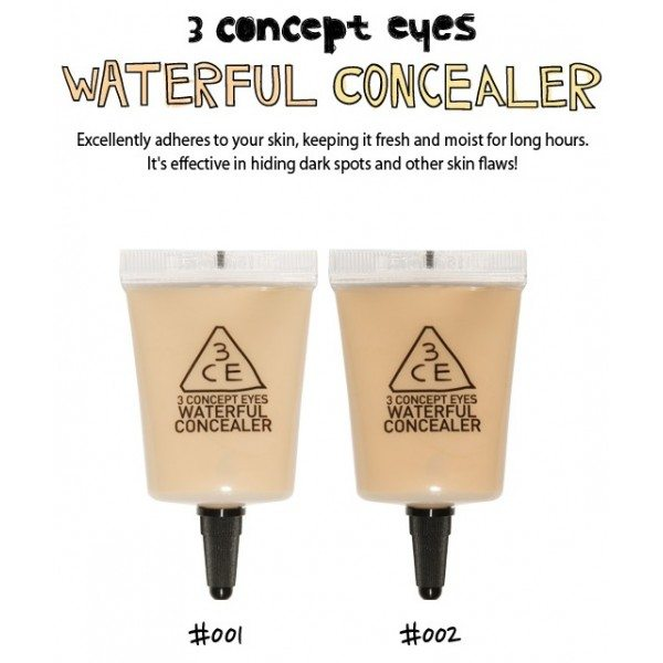 3CE - Waterful Concealer ( 2 colors )