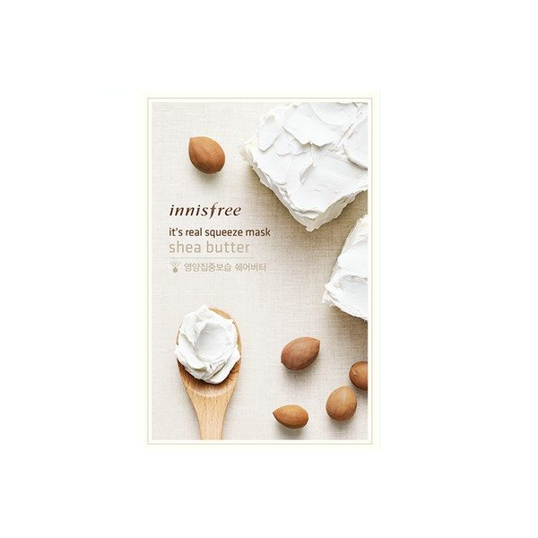 Innisfree IT'S REAL SQUEEZE MASK-SHEA BUTTER