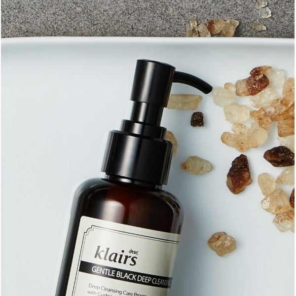 Klairs Gentle Black Deep Cleansing Oil skincare by decade
