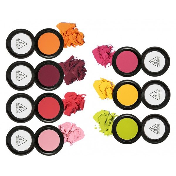 3CE One Color Shadow - 7 colors