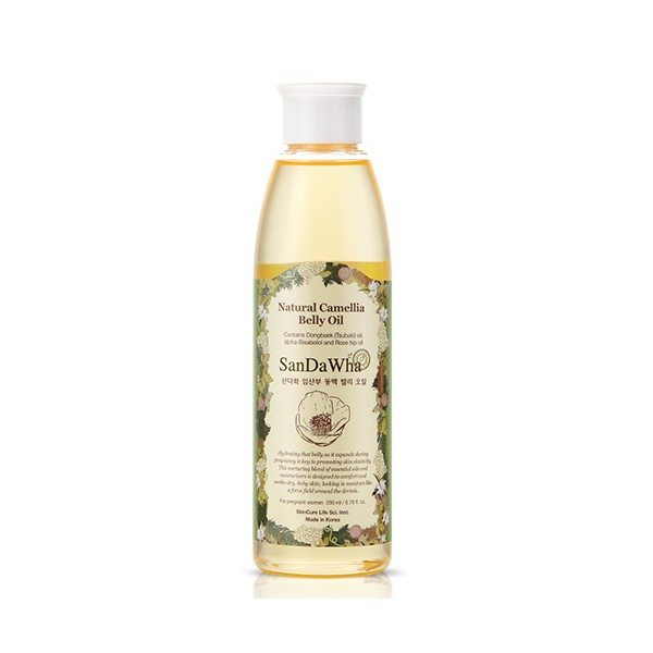 SanDaWha Natural Camellia Belly Oil