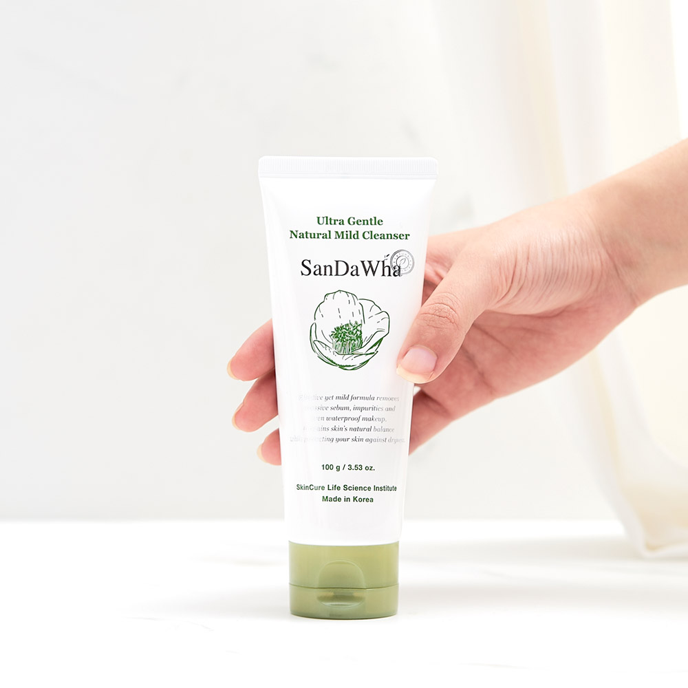 Sandawha ultra gentle natural mild cleanser for teens