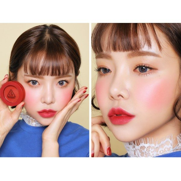 3CE Red Recipe Face Blush Purity Red