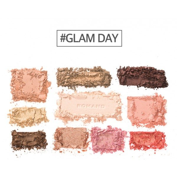Romand Perfect Styling Eye Palette Glam Day