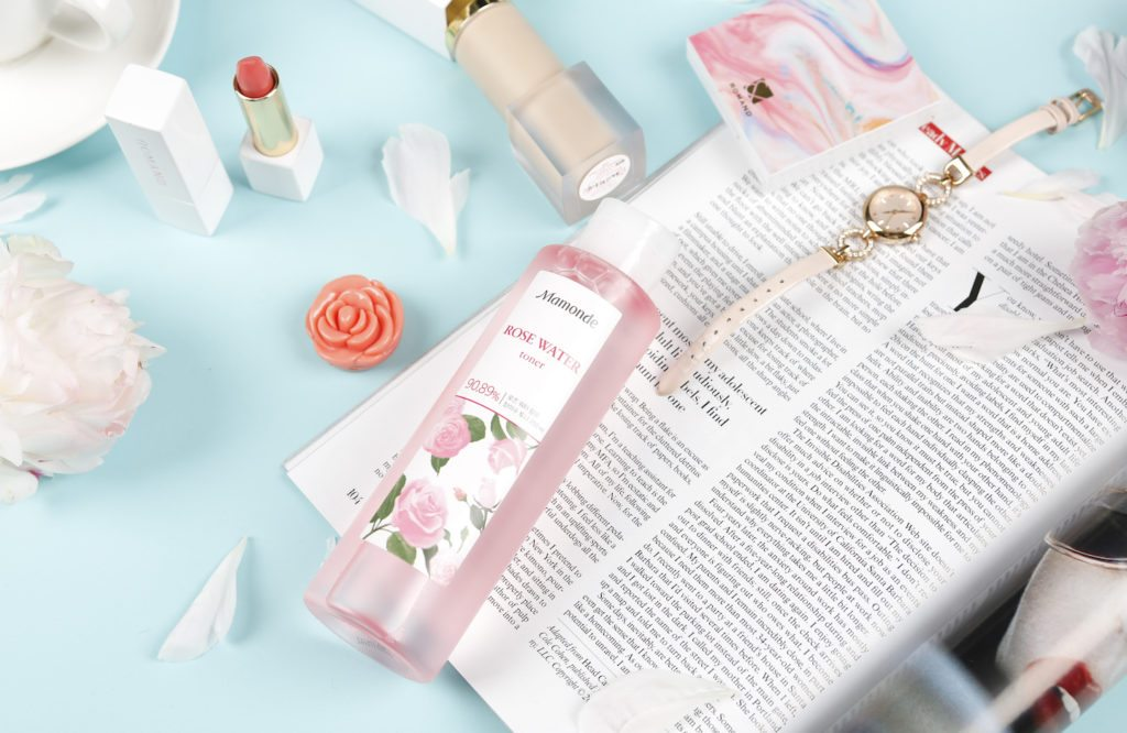 K-beauty 5 pillars mamonde rose toner resized teen's first skincare routine