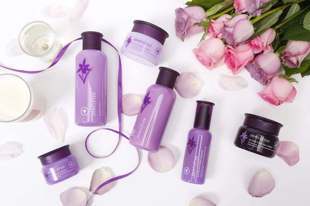 orchids in your skincare best innisfree