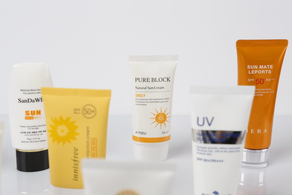 apieu pure block natural sun cream