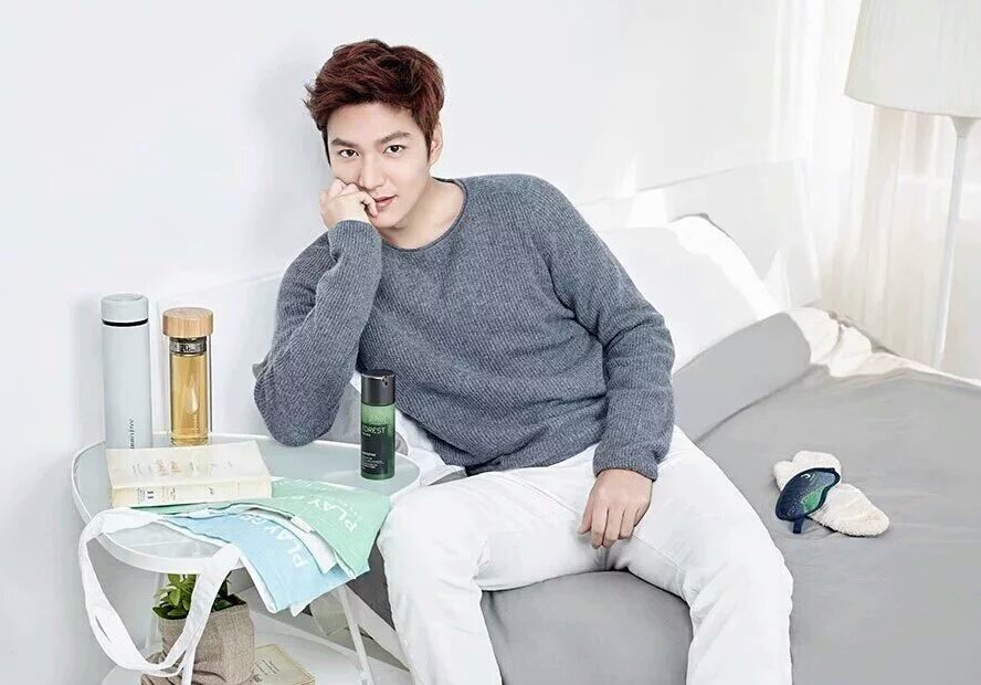 lee min ho innisfree male celebs korean male celebs