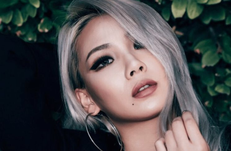 cl's glam rapper look