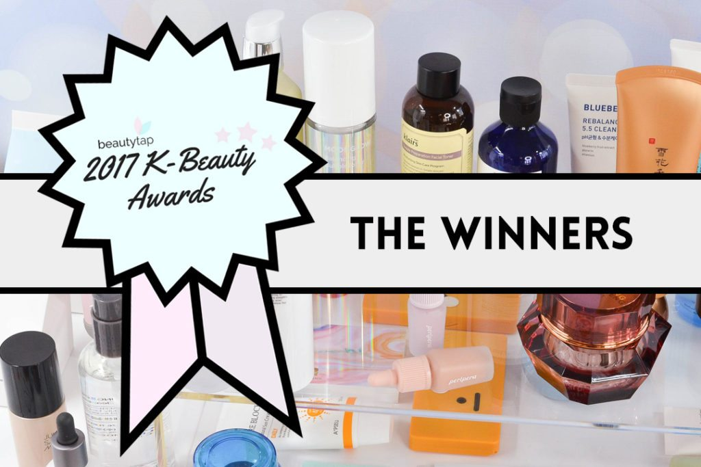And the K-Beauty Awards Go To ... Your Best K-Beauty Products of 2017!