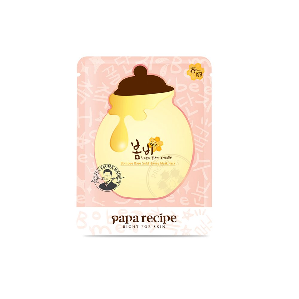 Papa Recipe Bombee Rose Gold Honey Mask