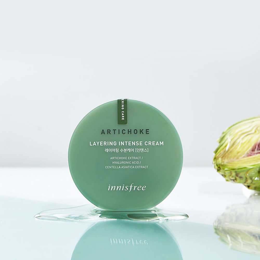 The Review: Innisfree Artichoke Layering Intense Cream