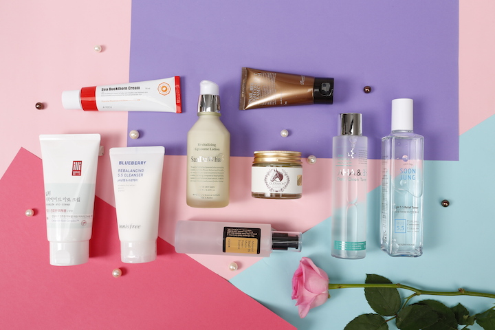 K-beauty products at drugstore prices