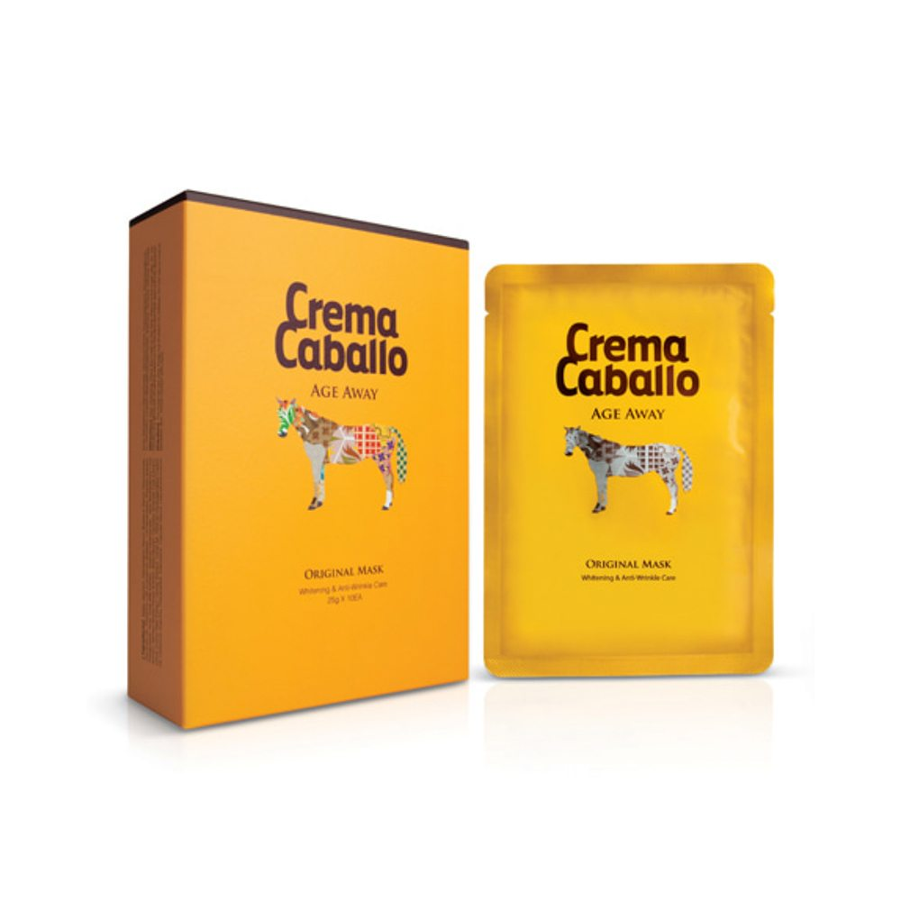 Crema Caballo Age Away Original Mask unique k-beauty ingredients