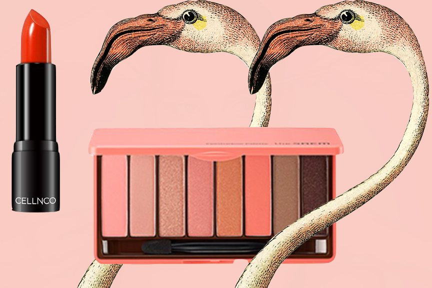 Celebrate Spring Break With This Sour Candy Flamingo Makeup Look (+ Cocktail)