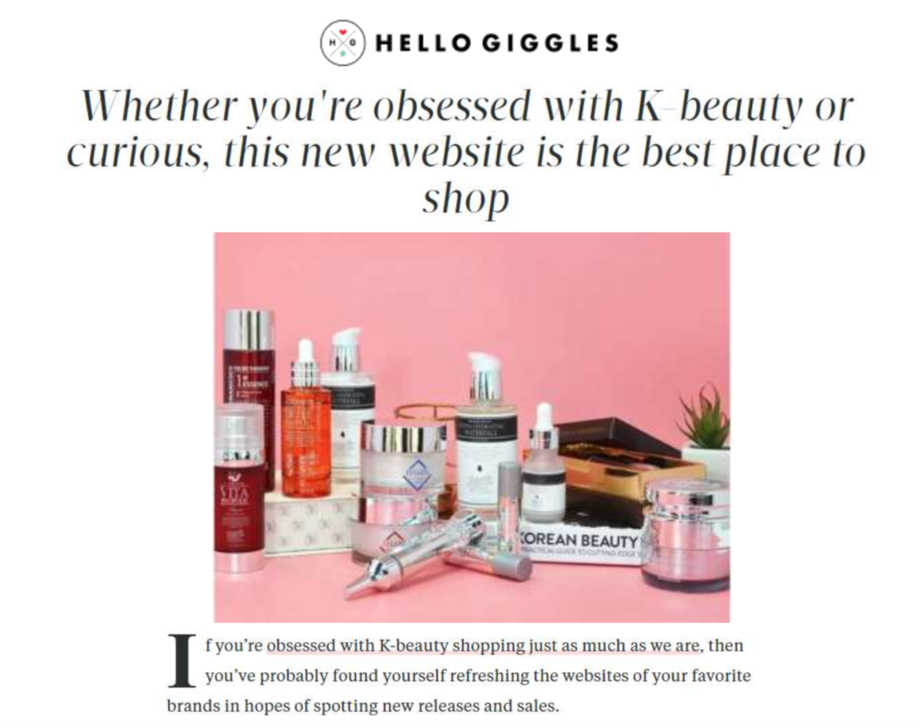 beautytap in the media