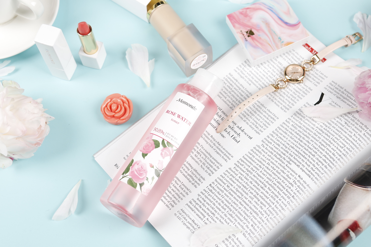 mamonde rose water toner k-beauty convert