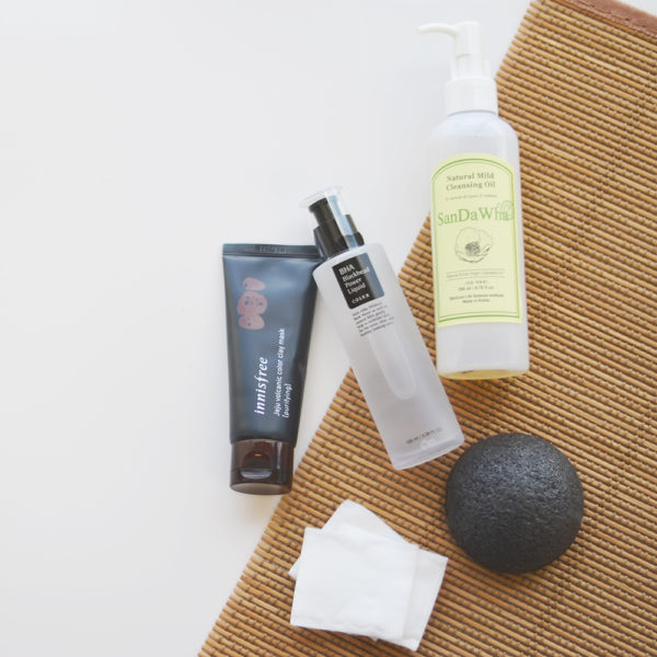 Fifty Shades of Snails Blackhead Buster Set COSRX BHA Blackhead Power Liquid SanDaWha Natural Mild Cleansing Oil 105 Likes Innisfree Jeju Volcanic Color Clay Mask Purifying