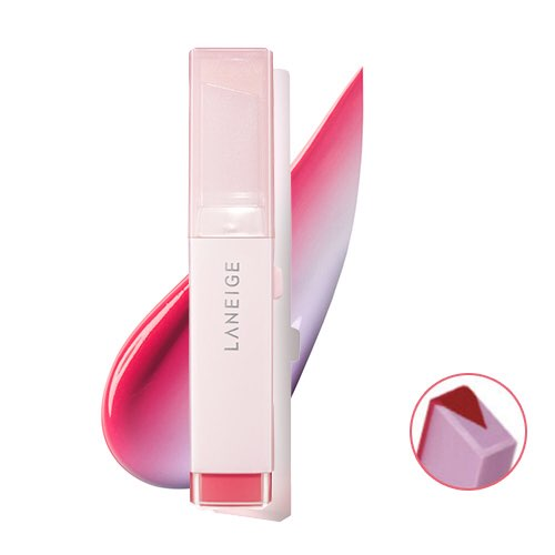 Laneige Two Tone Tint Lip Bar Rolly Pop Red