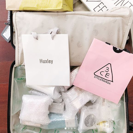packing skincare
