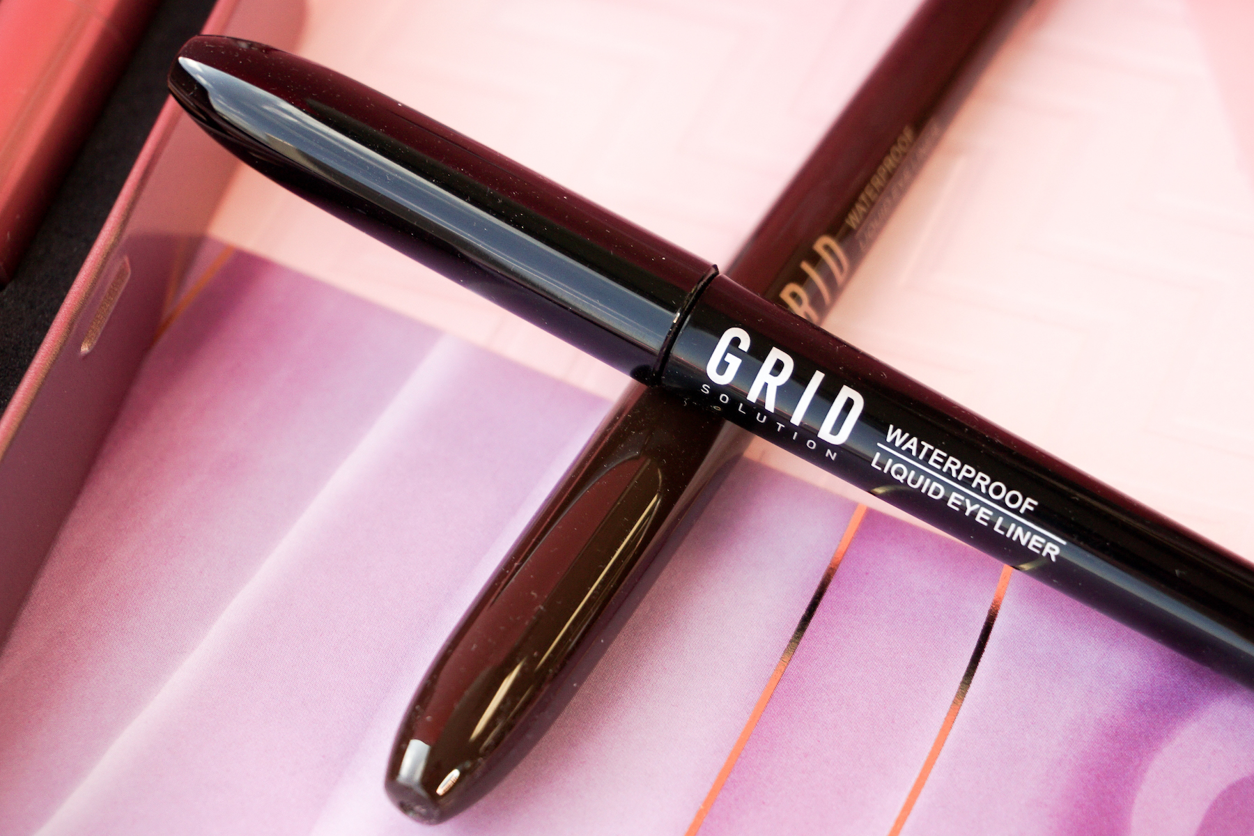 Let's Add This Must-Have Liner to My HG List: Grid Solution Liquid Eye Liner