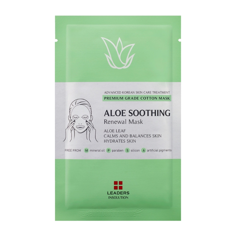 LEADERS Aloe Soothing Renewal Mask