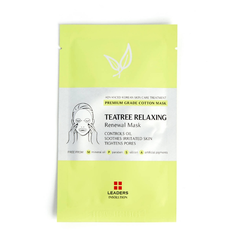 LEADERS Teatree Relaxing Renewal Mask