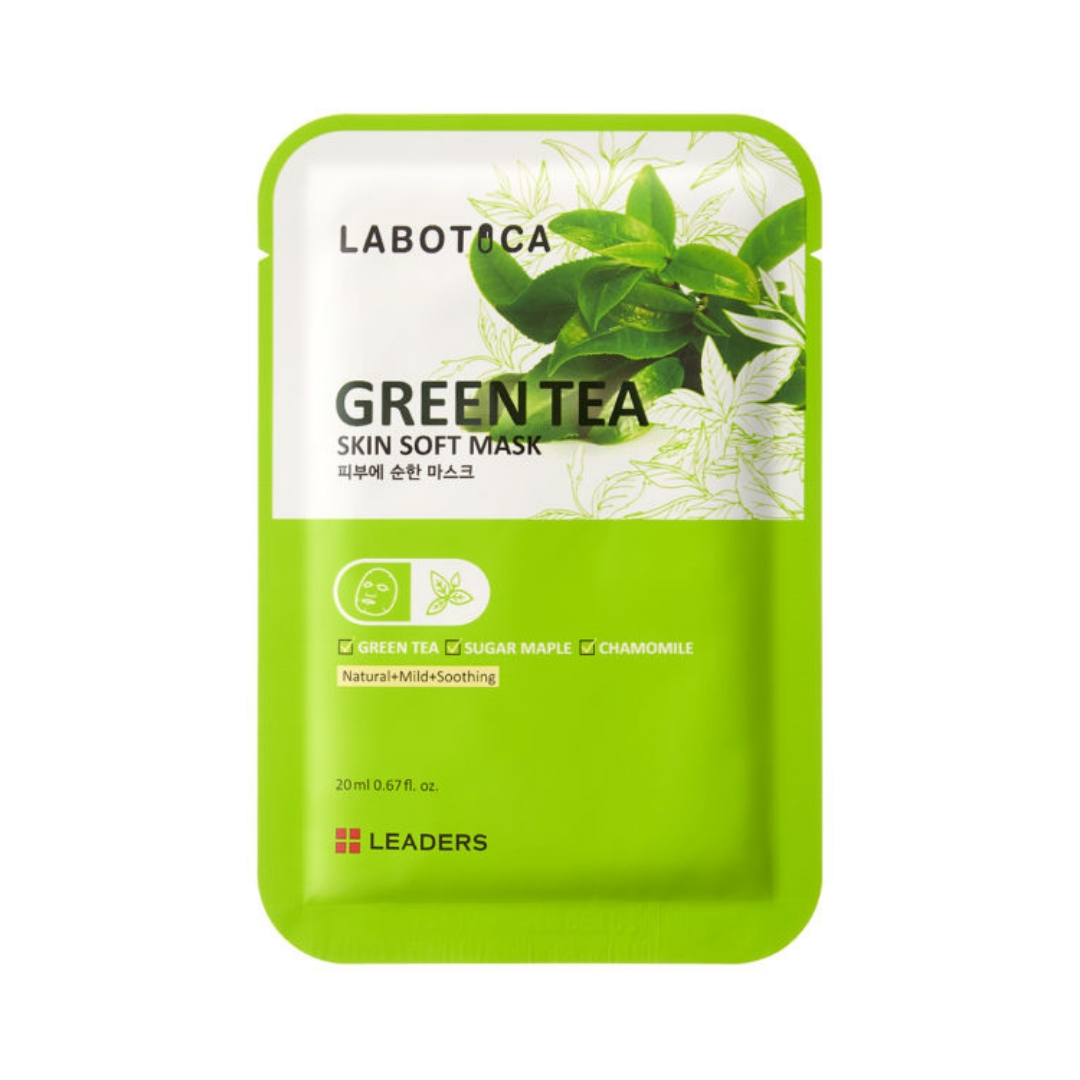 LEADERS Labotica Green Tea Skin Soft Mask