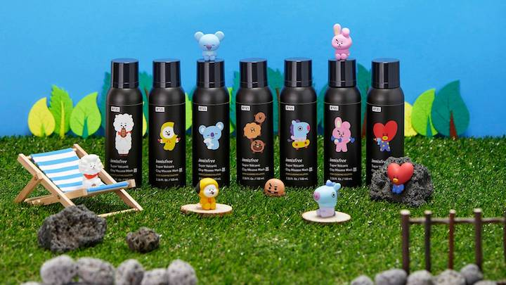 Innisfree Is Making Serious Moves With New Stores, New Packaging, & Yes, New BT21 Collabs