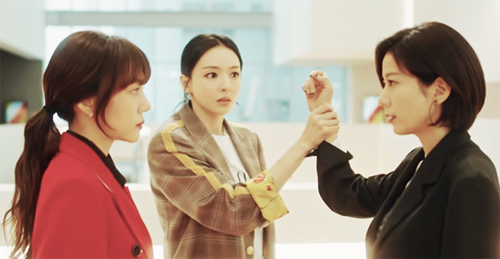 K-drama working women