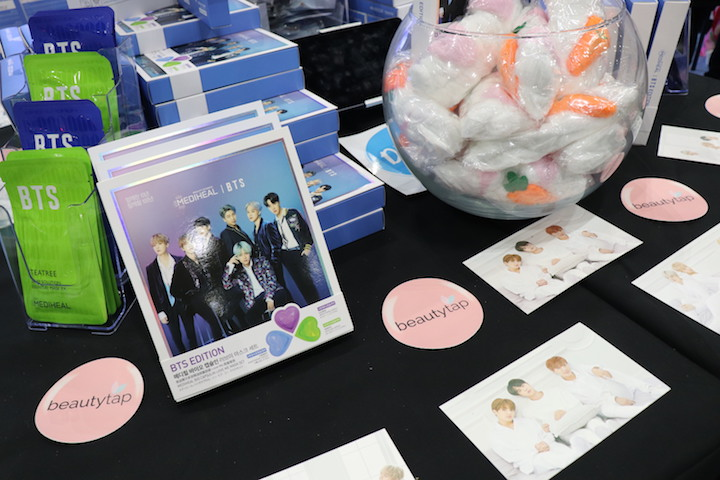 beautytap at kcon
