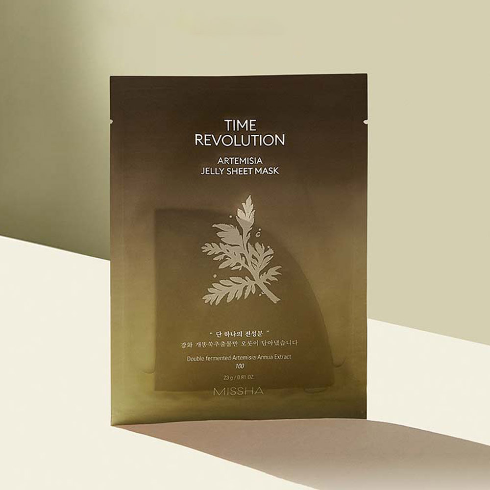 You Have to See It to Believe It: Missha Time Revolution Artemisia Jelly Sheet Mask