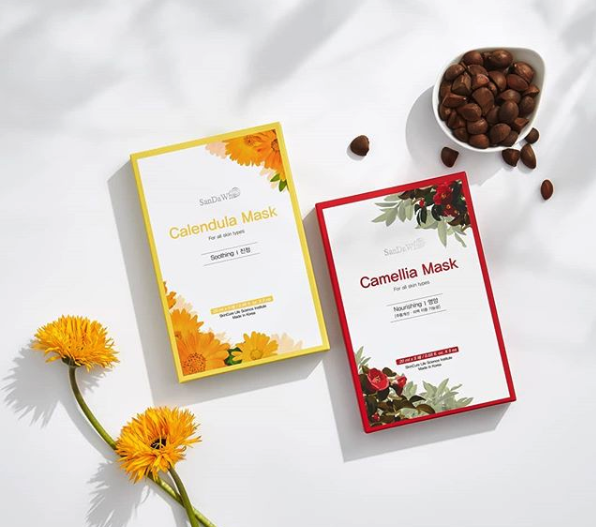SanDaWha Calendula and Camellia Sheet Masks: The Review