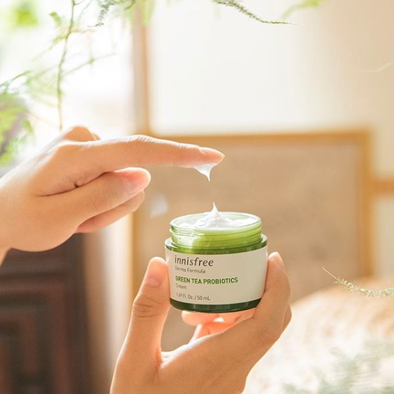 Innisfree Derma Formula Green Tea Probiotics Cream: The Review