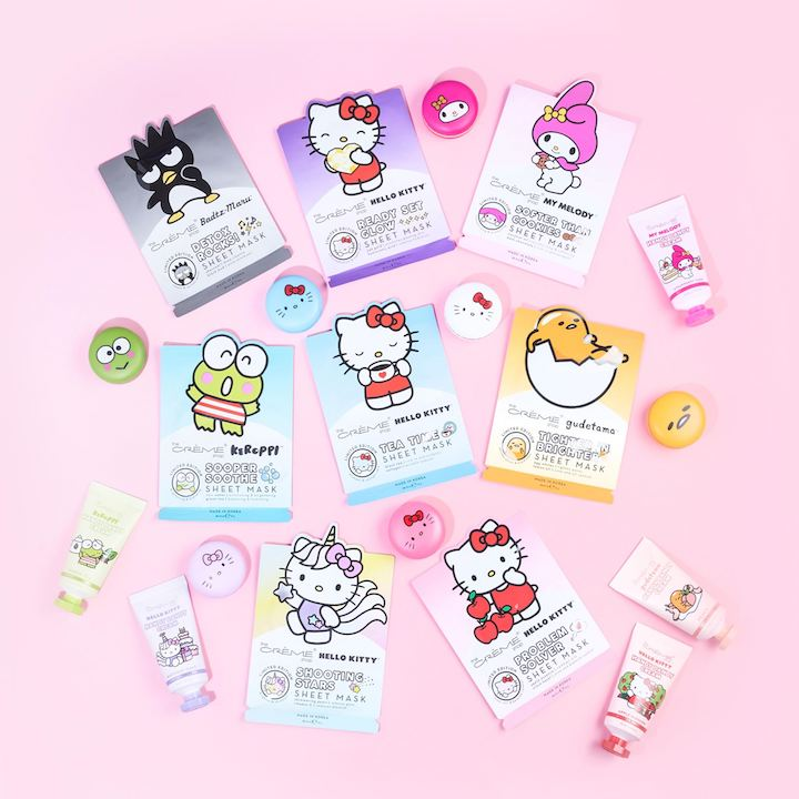 Yes, I'm 32 & Still Dying Over the Hello Kitty x The Créme Shop Collab
