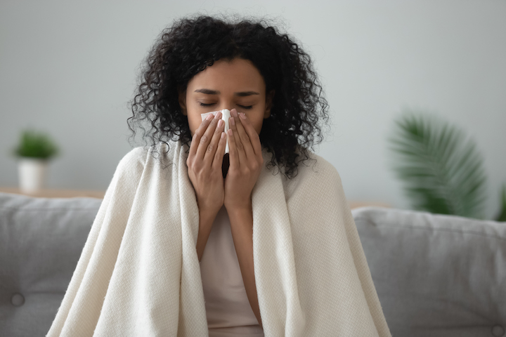 Sick Day Skincare: How to Care for Your Skin While Nursing a Cold