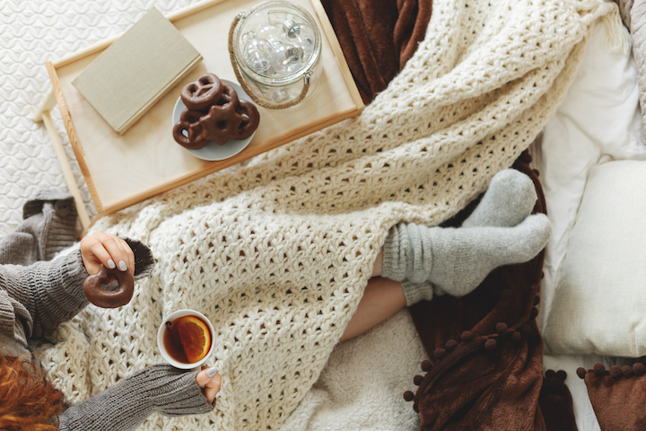How to Get Hygge & Stay Cozy When It's, Uh, Less So Outside