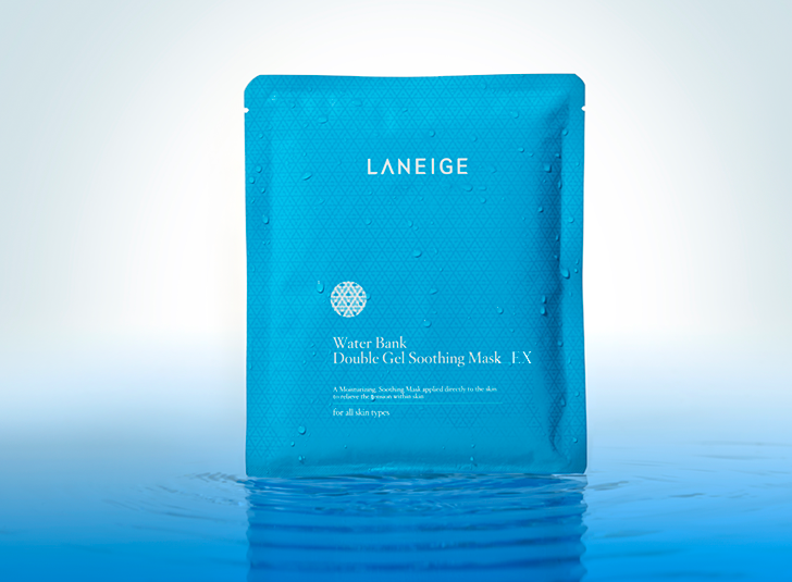 The Review: Laneige Water Bank Double Gel Soothing Mask EX