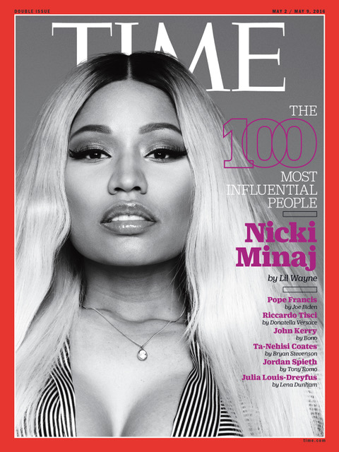 Nicki Minaj on Time Magazine Cover