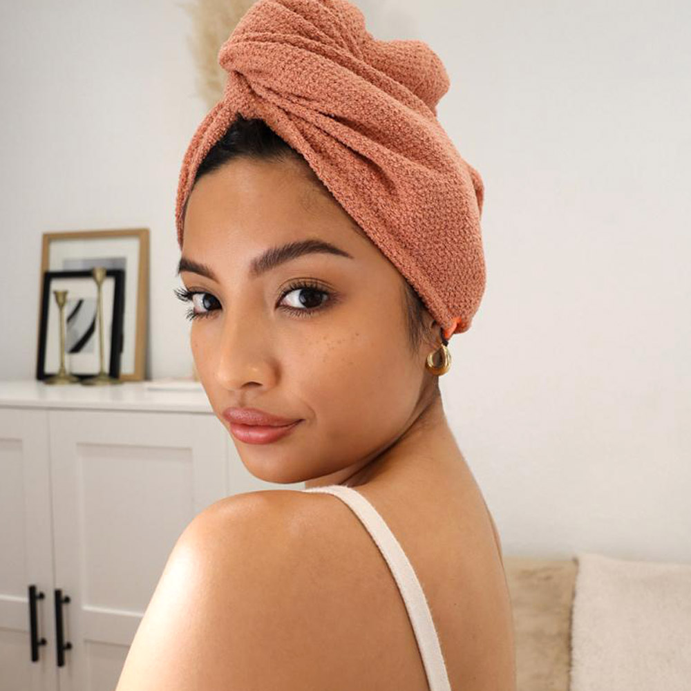 Prevent Frizz and Cut Hair Drying Time In Half With This Revolutionary New Towel